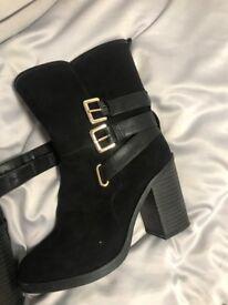 Black little boots