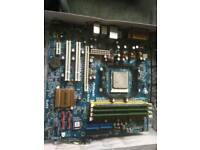 Asrock NF6G-GLAN amd phenom II x2 555BE 3GB RAM DDR2 800mhz