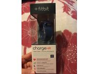 Brand new in box Fitbit Charge HR