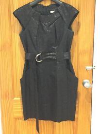 Karen Millen Black Party Dress - Size 10