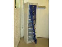 Personal Items Locker with 7 keys