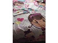Doc McStuffins reversible single duvet cover & pillowcase