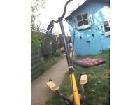 V shape scooter