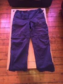 Mens Berghaus trousers/shorts 36R