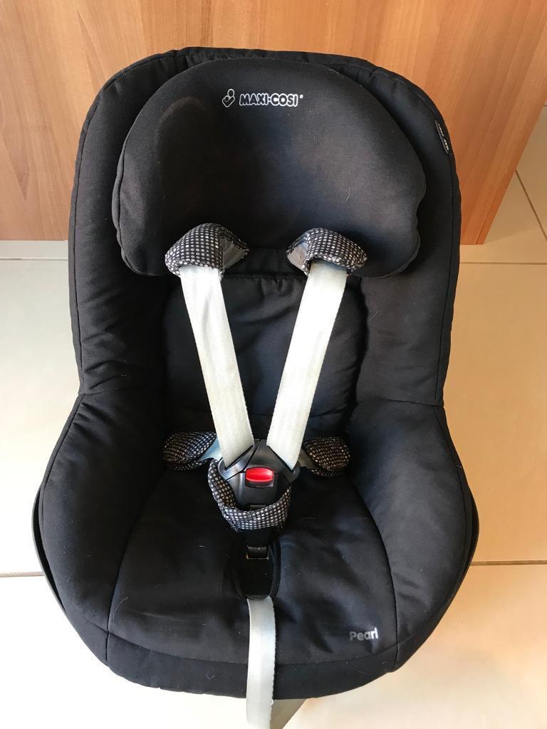 Maxi Cosi Pearl Toddler Car Seat In Black