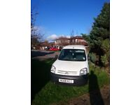 Citreon Berlingo 1560 cc SPARES OR REPAIR 110k miles - MOT Feb 18. SORN