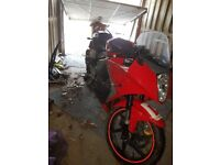 Hyosung gt125rc only 3300