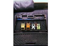 Boss Pedal Board & Four Guitar Pedals