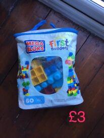 Mega blocks bag
