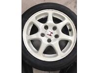 OEM EK9 Wheels and tyres