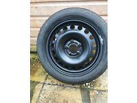 Michelin pilot tyre wheel 205/50/16 brand new vectra Astra meriva Vauxhall insignia zafira