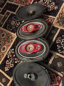 Car speakers
