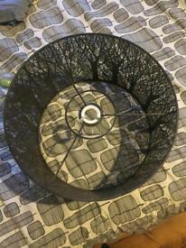 John Lewis Devon Ceiling Shade, Black