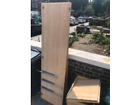 Small wardrobe with built in draws - free