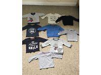 Bundal of boys clothes size 6-9 months