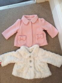 Baby coats 0-3 months