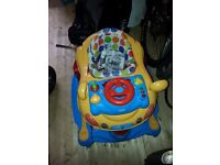 Baby rocker/walker car (mamas & papas)