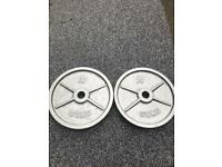 X2 50KG STRENGTH SHOP OLYMPIC WEIGHTS