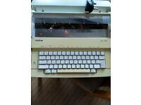 Brother AX 100 typewriter