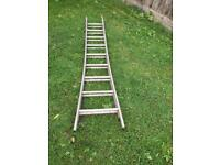 Old fashioned Gravity randle ladders