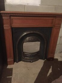 Fireplace Surround Modern Including Marble Hearth