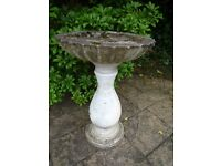 Garden ornament Stone Bird Bath