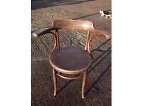 Fischel antique bentwood chair 1910 - 1930