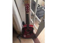 Nice conditon acoustic guitar