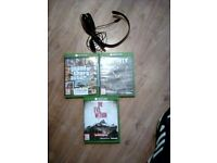 Xbox one games and head phones
