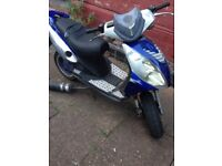 50cc Moped For Sale Selling As Spares But Still Working