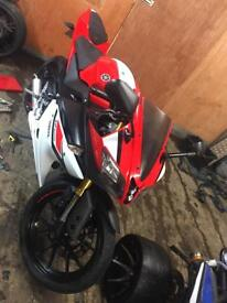 Yamaha yzf125r r125 fully loaded learner legal abs