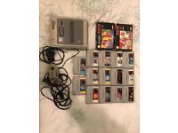 snes with 16 games