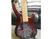Parksons 5-string electric bass
