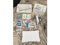 Nintendo Wii Console and Wii Fit Board Bundle