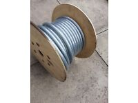 Armoured cable, 4mm 4 core, approx 15m, (remainder of a 50m drum)