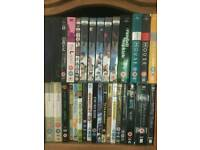 Massive bundle of dvds films TV shows, doctor who, harry potter, NCIS, 3rd Rock, firefly, matrix