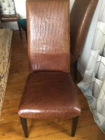 Barker & Stonehouse chairs & bench