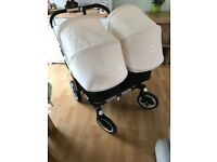 Bugaboo Donkey Twin Pram with Accessories