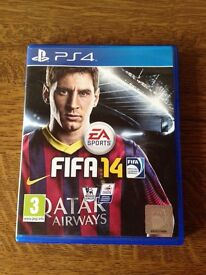 Fifa 14 game for PS4 - excellent condition - used