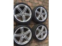 """Audi Style 20"""" Alloy Wheels S-Line, used for sale  Belfast City Centre, Belfast"""