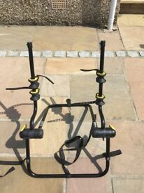 Rhode gear bike rack for over spare tyre