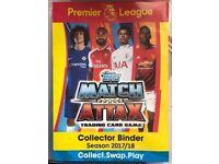 Topps Match Attax English premier league 2017/2018