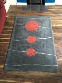 Pure wool rug 6 X 4 foot