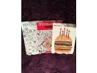 3 colouring books - great condition, no pages coloured in