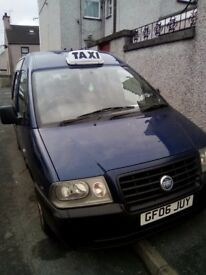 8 seater Taxi Van minibus with 11 months MOT