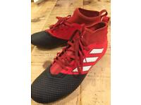 Adidas V Sock Boot Football Boots size 9UK