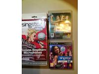 PlayStation 3 Singstar games bundle with brand new wireless microphones