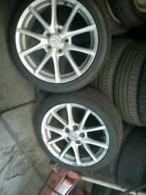 Mazda mx5 alloys