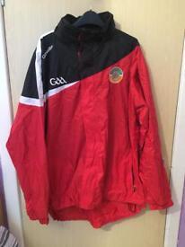 Aidan Mcanespie Gaelic football jacket XXL