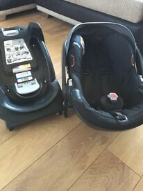 Be Safe Car Seat and Isofix Base